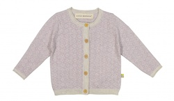 LITTLE MOUNTAINS LILLE LIVE OG LINUS CARDIGAN LYS LAVENDEL - Little Mountains by iiS