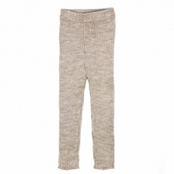 MEMINI PATENT LEGGINGS  GREY WARM SAND - Memini