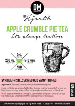 Apple Crumble Pie Tea ingen - DM Skincare