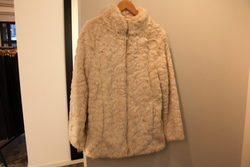 Bliso jacket fra byoung antique white - B.young