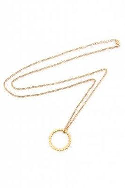 Secrets by B Circle ring necklace Gull - Secrets byB