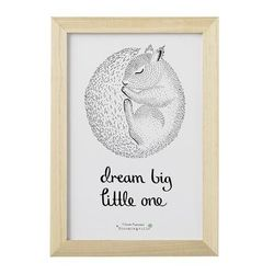 Ramme Dream Big Little One Natur - Bloomingville