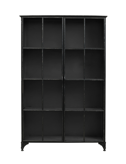 Downtown iron cabinet black Svart - Nordal