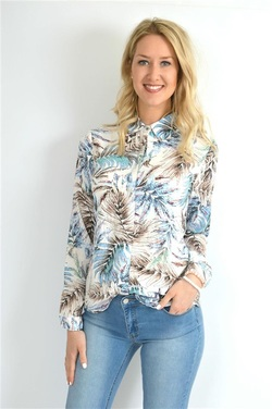 STEEAM PRINTED BLOUSE ANTIC - Steeam