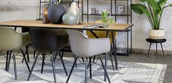 Roosevelt Dining Chair 2 pk Hvit - Trend Collection