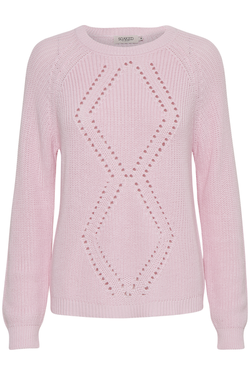 Genser fra Soaked in luxury Ballerina pink - Soaked in Luxury