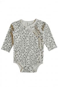 BY HERITAGE ELLA WRAP BODY  PRINT offwhite - By Heritage