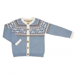 Aaron Baby Cardigan cloud blue - Memini