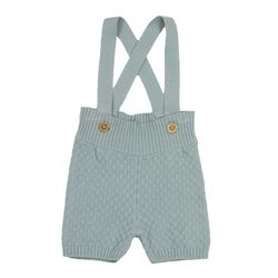 Max Suspender Shorts foggy mint - Memini