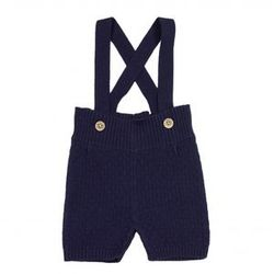 Max Suspender Shorts navy - Memini