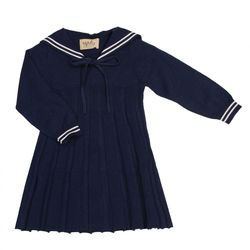 Martha Sailor Dress navy - Memini