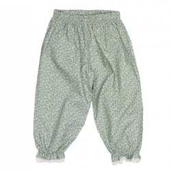 MeMini Dolly Pant Mint Flower blomstrete - Memini
