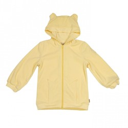 MeMini Alaska Fleece Hoodie pale yellow - Memini