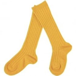 Knee socks sun yellow - Memini