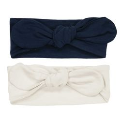 Minnie Headband 2 pack navy og white  - Memini