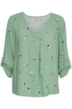 Bluse fra soaked in luxury Cameo green - Soaked in Luxury