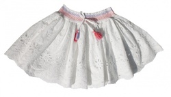 VILJE & VE LOLLO SKIRT GIRL WHITE - VILJE & VE