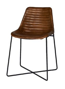 Empire Dining Chair Cognac Cognac - Trend Collection