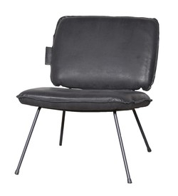 Lenestol Fauteuil Arkansas Black Trend Collection Svart - Trend Collection