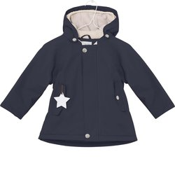 Vinterjakke Wally fra Mini A Ture Sky Captain Blue - Mini A Ture