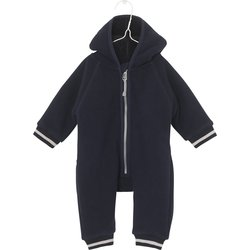 Deilig mørkeblå fleecedress i supermyk teddy, Adel, fra Mini A Ture Navy - Mini A Ture