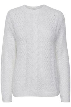 Margery Pullover Broken White - Soaked in Luxury