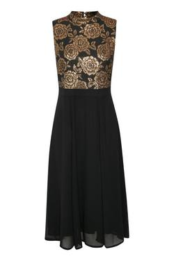 Kirsa Maxi Dress Black Deep - Kaffe