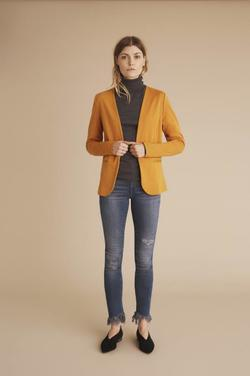 Kate Clean Blazer. INCA GOLD - Ichi
