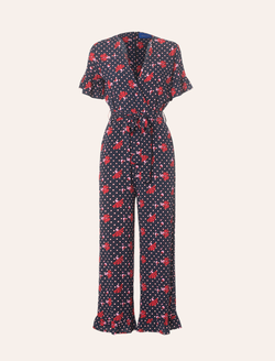 LOUSANNA JUMPSUIT Navy - Resume