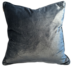 Cushion cover Grey/blue - Mille Moi