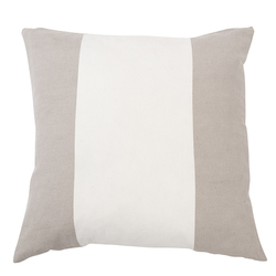 Cushion cover 3 stripes, 60x60 Sand - Mille Moi