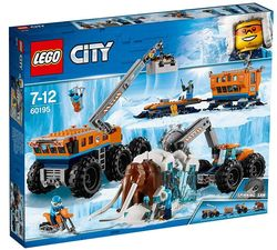 LEGO City Arctic Expedition 60195 Mobil polarforskningsbase Blå - LEGO