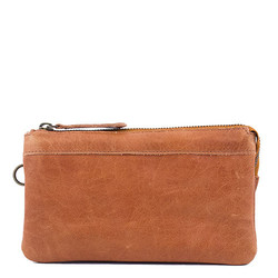 RE:DESIGNEDBYDIXIE -  Angel lommebok/clutch, walnut Walnut - Dixie