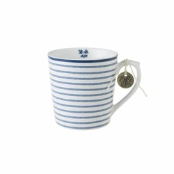 Laura Ashley krus x 4 Candy stripe - Laura Ashley tableware