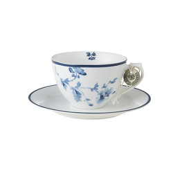 Laura Ashley cappucino-kopp x2  China rose - Laura Ashley tableware