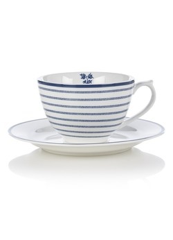 Laura Ashley cappucino-kopp x2  Candy stripes - Laura Ashley tableware
