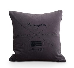 Lexington velvet sham Dark grey - Lexington