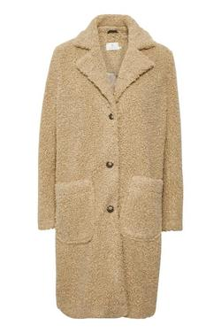 Balma teddy coat Tiger's eye - Kaffe