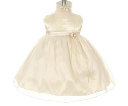 Kid´s Dream - Milla babykjole Beige - Kids dream