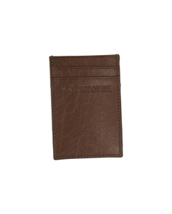 Hobson leather cardholder Cognac - Lexington