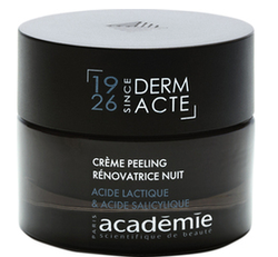 DERM ACT HØYKONSENTRERT: Restorative exfoliating Night Cream ikke RELEVANT - Academie
