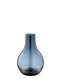 CAFU VASE, EXTRA SMALL, GLASS blå - Georg Jensen