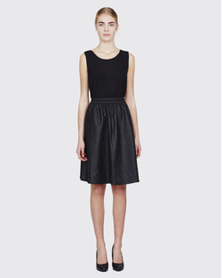 shirley skirt BLACK - Minimum
